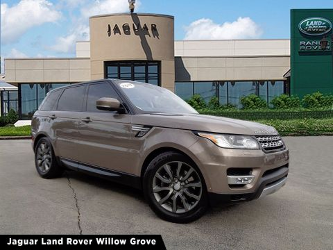 Certified Pre-Owned 2017 Land Rover Range Rover Sport HSE